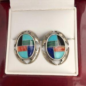 Carolyn Pollack Carlisle Southwest Style Earrings